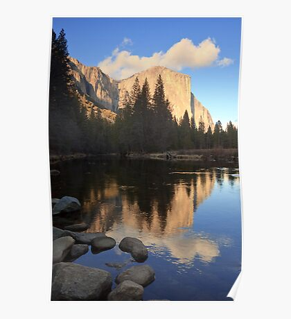 El Capitan at Sunset Poster
