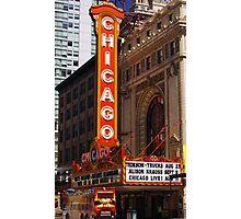 Chicago Theatre, Chicago, IL Photographic Print