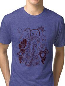 Doodle 66 none-colour Tri-blend T-Shirt