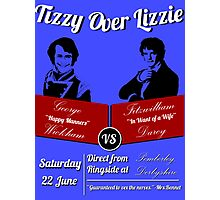 Tizzy Over Lizzie (Poster) Photographic Print