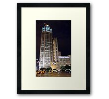 Marilyn Monroe at Tribune Buinding, Chicago, IL - Larger Size Framed Print