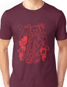 Doodle 66 Red Unisex T-Shirt