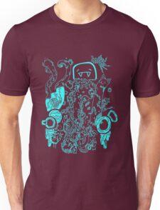 doodle 66 Blue Unisex T-Shirt