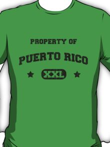 Property of Puerto Rico XXL  T-Shirt