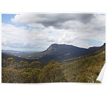 Mt. Roland from Round Mountain Scenic Overlook Poster