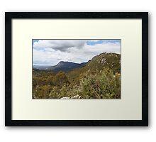 Afternoon Light on Mount Roland Framed Print
