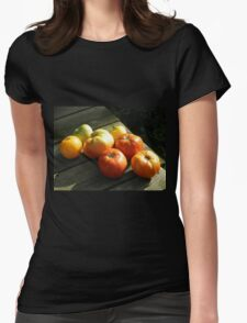 Clay's Garden 02 Womens Fitted T-Shirt