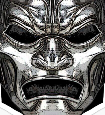 """""""300"""" Immortal Mask Sticker"""