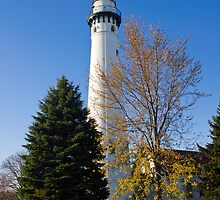 Windpoint Lighthouse  by Anthony Roma