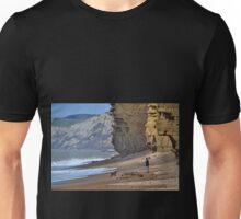 Hive Beach , Dorset, UK Unisex T-Shirt