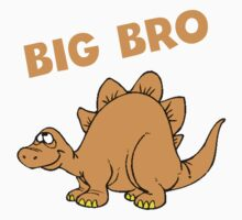 Big Bro Dinosaur One Piece - Short Sleeve