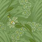 iPhone Case Nouveau Green by Melanie  Dooley