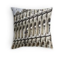 Hôtel de Ville, Paris Throw Pillow