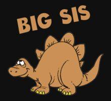 Big Sis Dinosaur Kids Tee