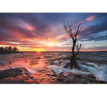 Sea Sunset Photographic Print