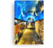 Into The Blue Zone Canvas Print