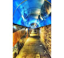 Into The Blue Zone Photographic Print