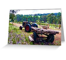 Karriview Winery Greeting Card