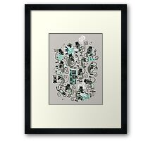 Monkey Magic  Framed Print