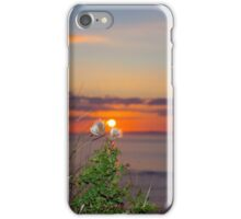 yellow sunset tall thistles iPhone Case/Skin