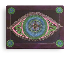THE EYE OF AWARENESS Canvas Print
