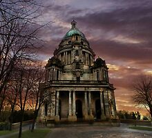 The Ashton Memorial at Sunset  by Irene  Burdell