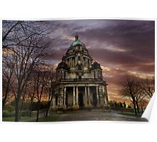 The Ashton Memorial at Sunset  Poster