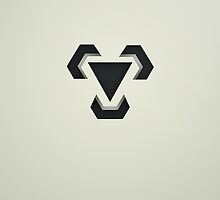 Pokemon - Metal Type Symbol by LynchMob1009