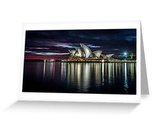 Reflections - Sydney Opera House Greeting Card