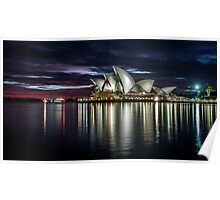 Reflections - Sydney Opera House Poster