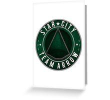 Star City: Team Arrow  Greeting Card