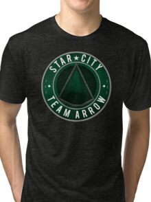 Star City: Team Arrow  Tri-blend T-Shirt
