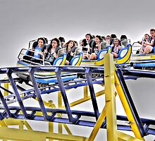 Roller Coaster Mayhem! by JaninesWorld