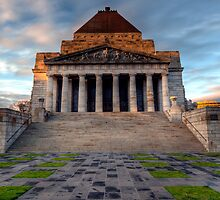 Shrine of Remembrance • Melbourne by William Bullimore