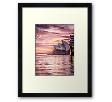 4th sail Framed Print