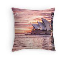 4th sail Throw Pillow