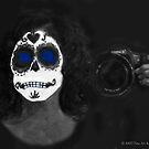 Day Of The Dead #9 Self Portrait by Heather Friedman