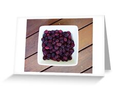 mulberries Greeting Card