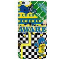 UNIVERSITY OF DELAWARE COLLAGE iPhone Case/Skin