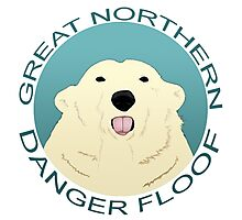 The Great Northern Danger Floof Photographic Print