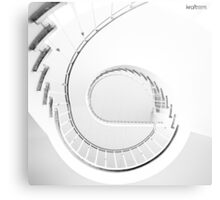 Hole in the stair Canvas Print