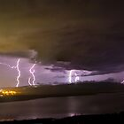 Storm over the Callide dam by faulsey