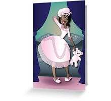 Twisted - Sleeping Beauty Greeting Card