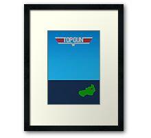 Top Gun - Minimal Poster 2 Framed Print