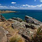 Bass Strait from The Nut - Stanley, Tasmania by clickedbynic
