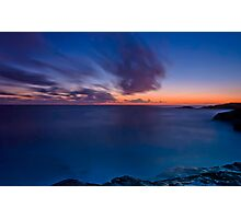 Last Light, Boat Harbour Sunset Photographic Print
