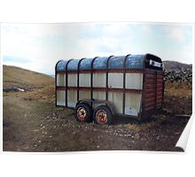 Old Horsebox Used As A Shed Poster