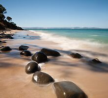 Roches Beach, Summer, Tasmania by David Jamrozik