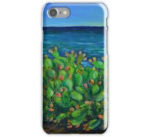 Oil Painting - Fichidindia in Sicily. 2015 iPhone Case/Skin