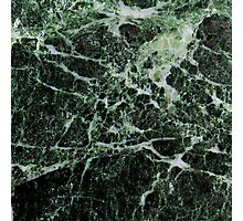 Green Marble Photographic Print
